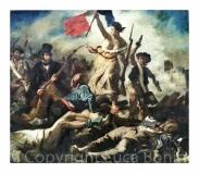 La libertà che guida il popolo - Delacroix